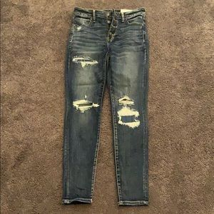 american eagle high righ jeggings
